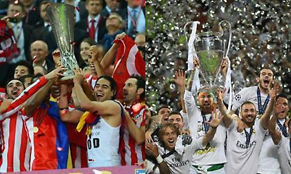 Για 7η φορά στην ιστορία: Δύο ομάδες από την ίδια πόλη σε δυο ευρωπαϊκούς τελικούς της ίδιας σεζόν!
