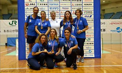 Χάλκινο μετάλλιο για την Εθνική γκόλμπολ γυναικών στις Βρυξέλλες