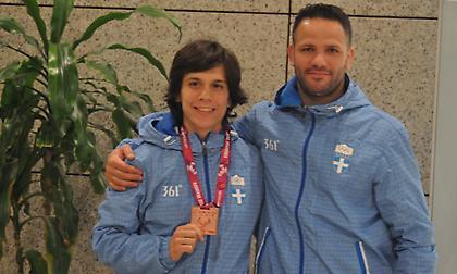 Επέστρεψε θριαμβεύτρια η Πρεβολαράκη: «Επόμενος στόχος το Παγκόσμιο και πρόκριση στους Ολυμπιακούς»
