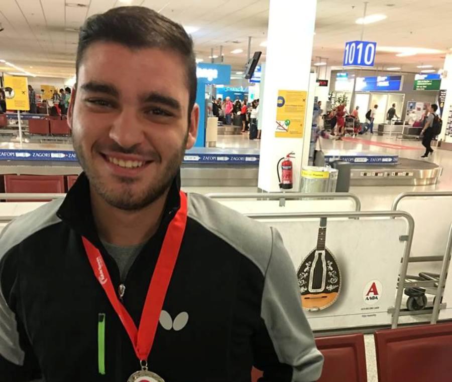Στο Νο 10 του κόσμου ο Σγουρόπουλος στο Under 18