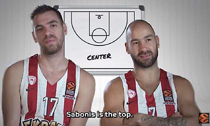 Ο Σαμπόνις… νίκησε τον Μπατίστ σύμφωνα με τους παίκτες της Ευρωλίγκας (video)