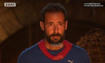 Survivor: Αποχώρησε ο Σώζων Παλαίστρος Χάρος!