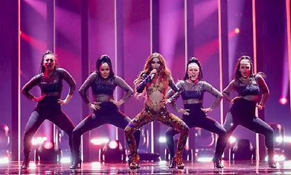 Eurovision: Εκρηκτική η Ελένη Φουρέιρα στην τελευταία της πρόβα πριν το μεγάλο τελικό (video)