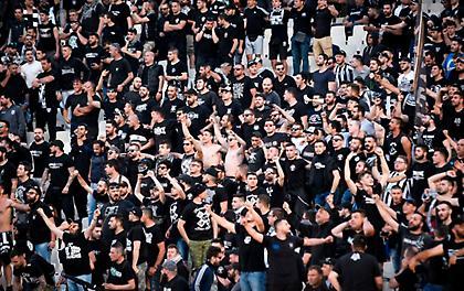 Αιχμηρό πανό των οπαδών του ΠΑΟΚ για την ΑΕΚ και τον υποβιβασμό στην Γ' Εθνική (pic)
