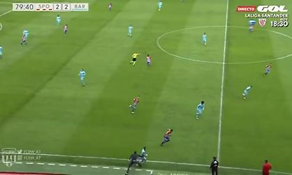 Ο (προπονητής) Μπαράχα έκανε… αντιαθλητικό σε παίκτη της Μπαρτσελόνα Β' (video)