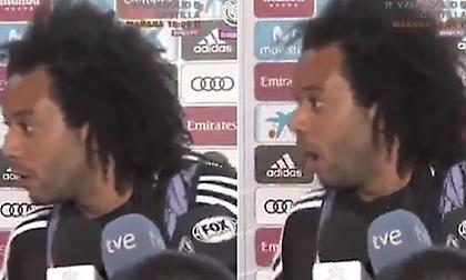 Επική αντίδραση Μαρσέλο σε ερώτηση για Μπαρτσελόνα-Γκριζμάν (video)