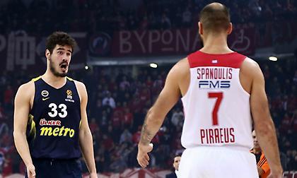 Κάλινιτς: «Τεράστιος παίκτης ο Σπανούλης, αλλά πλέον θα πρέπει να ξεκινάει από τον πάγκο»