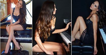 Η πιο σέξι πιανίστρια στον κόσμο