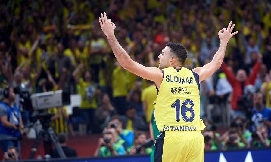 Έφτασε το 6/6 σε ημιτελικούς Ευρωλίγκας ο Σλούκας!