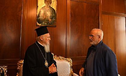 Στο Φανάρι ο Ιβάν Σαββίδης-Συνάντηση με τον Οικουμενικό Πατριάρχη
