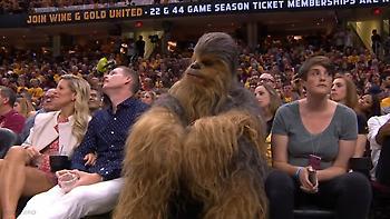 Ήρωας του Star Wars παρακολούθησε το Καβαλίερς-Σέλτικς (video)