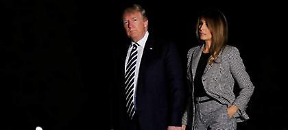 Ο Τραμπ μπέρδεψε το όνομα της γυναίκας του -«Μέλανι» αντί Μελάνια