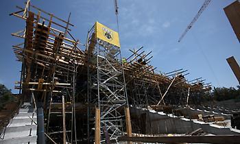 «Ανεβαίνει» το νέο γήπεδο της ΑΕΚ