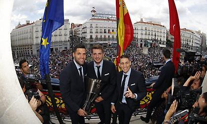 Στον… ουρανό της Μαδρίτης το δέκατο ευρωπαϊκό της Ρεάλ (pics)