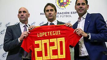 Επίσημα ως το 2020 στον πάγκο της Ισπανίας ο Λοπετέγκι