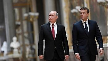 Πούτιν, Μακρόν, Άμπε και Λαγκάρντ συναντώνται στο Διεθνές Οικονομικό Φόρουμ της Αγίας Πετρούπολης