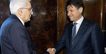 Εντολή για σχηματισμό κυβέρνησης στην Ιταλία έλαβε ο Κόντε