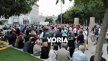 Θεσσαλονίκη: Συγκέντρωση διαμαρτυρίας για την επίθεση στον Μπουτάρη (video)