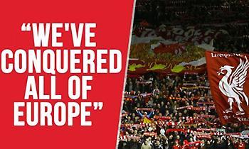 Λίβερπουλ: «Έχουμε κατακτήσει όλη την Ευρώπη» (video)