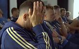 Δάκρυσαν οι παίκτες της εθνικής Σουηδίας (video)