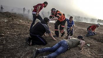 Νέες διαδηλώσεις στη Γάζα: Τουλάχιστον δέκα Παλαιστίνιοι τραυματίστηκαν από ισραηλινά πυρά