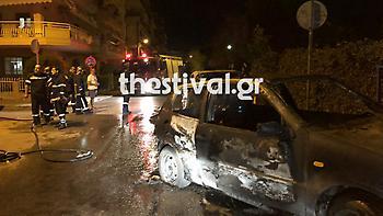 Θεσσαλονίκη: Επίθεση κουκουλοφόρων με πυρσούς στα χέρια