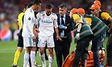 Κι άλλη αναγκαστική αλλαγή στον τελικό: Τραυματίστηκε ο Καρβαχάλ! (video)