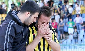 Το κλάμα των ποδοσφαιριστών της Αναγέννησης μετά τον υποβιβασμό (pics)