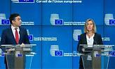 Σκοπιανό: Ο Ντιμιτρόφ ενημέρωσε τη Μογκερίνι για τις διαπραγματεύσεις