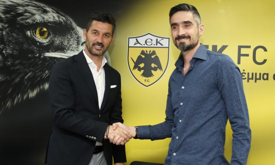 Ουζουνίδης: «Στην ΑΕΚ θα έχω να ασχοληθώ μόνο με το αγωνιστικό»