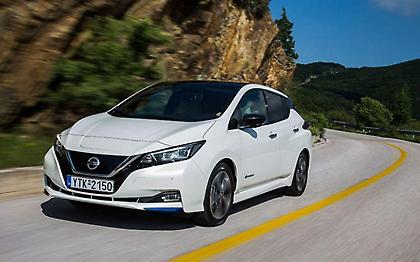 Νέο Nissan Leaf, οριστικά στην εποχή του ρεύματος