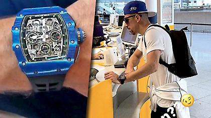 Το πανάκριβο ρολόι του Ριμπερί (pic)
