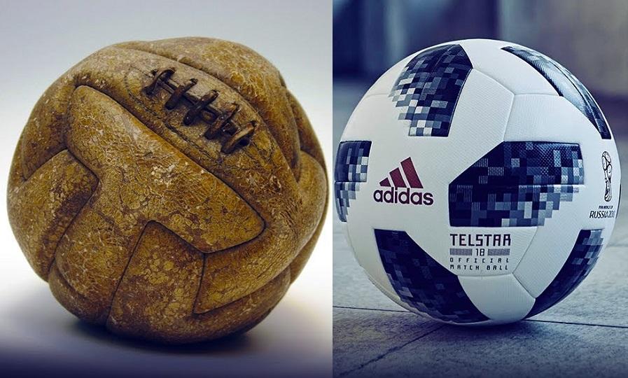 H μεταμόρφωση της «θεάς» του ποδοσφαίρου στα Μουντιάλ
