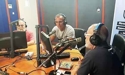 O Ζιοβάνι έφερε τη μαγεία του για άλλη μια φορά στον ΣΠΟΡ FM 94,6! (pics/video)