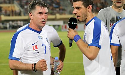 Ζαγοράκης στον ΣΠΟΡ FM: «Πέντε-έξι παίκτες από τους Legends 2004… παίζουν και τώρα Σούπερ Λίγκα»
