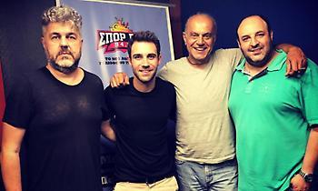 O Πέτρος Ιακωβίδης τα «έσπασε» στα γενέθλια του ΣΠΟΡ FM 94,6 (audio)