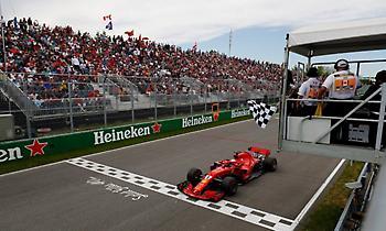 GP Καναδά: Μεγάλη νίκη και πρωτιά για τον Φέτελ!