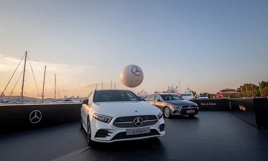 Στην Ελλάδα η νέα Mercedes-Benz A-Class