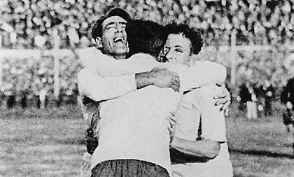 1930 Ουρουγουάη: Και χρυσό και Παγκόσμιο