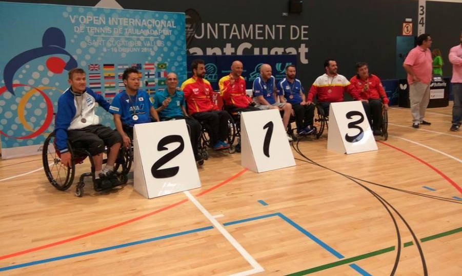 Ασημένιο μετάλλιο ο Στάμου στο ισπανικό Οπεν για αθλητές με αναπηρίες