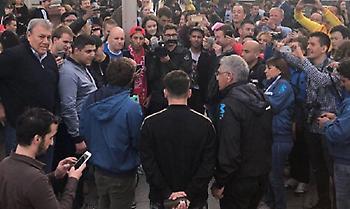 Συνελήφθη σωσίας του Μέσι στην Κόκκινη πλατεία!