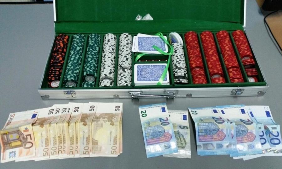 Πόκερ με πολύ χρήμα και 13 συλλήψεις στις Σέρρες