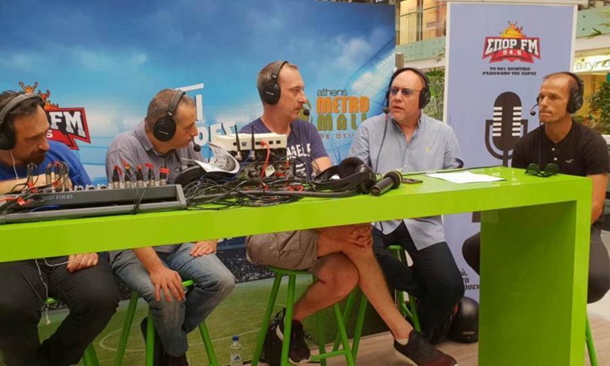 Ο ΣΠΟΡ FM κήρυξε την έναρξη του Μουντιάλ από το Athens Metro Mall!
