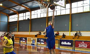 Πύρινη δράση στο 13ο Gillette Unibasket!