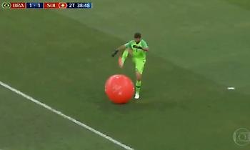 Το μπαλόνι πήρε… ρεβάνς από τον Άλισον