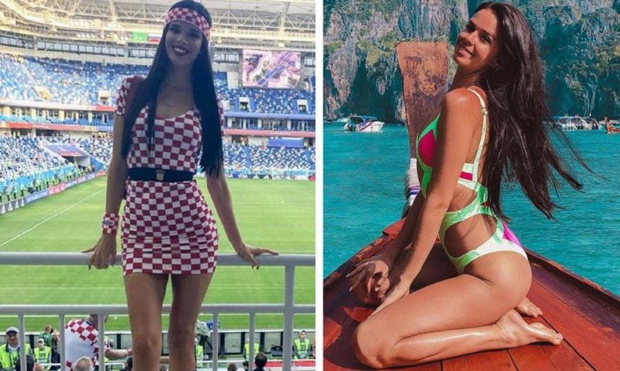 Η σέξι Ιβάνα τρελαίνει κόσμο στο Μουντιάλ της Ρωσίας (pics)
