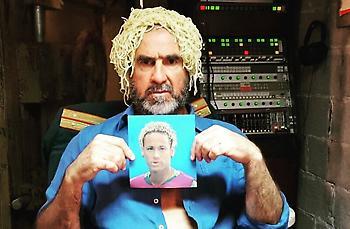 Ο Καντονά «γλεντά» το μαλλί του Νεϊμάρ (pic)