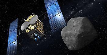 Το σκάφος Hayabusa 2 πλησιάζει τον αστεροειδή Ριούγκου για δείγματα