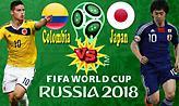 Live: Κολομβία-Ιαπωνία (15:00)