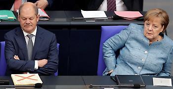 Die Welt: Ελάχιστες δυνατές παραχωρήσεις στην Ελλάδα θέλουν Μέρκελ - Σολτς